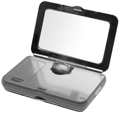 light up compact mirror simply smart compact mirror with tweezers lighted