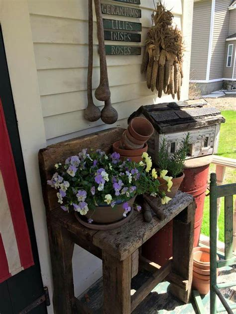 country vintage home decor 605 best images about primitive front porches on