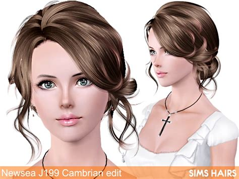 sims 3 hairstyles free download newsea j199 cambrian retexture by sims hairs