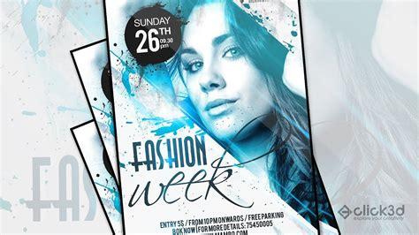 flyer design youtube fashion week flyer design flyer design in photoshop