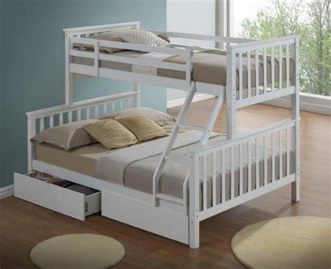 artisan   sleeper wooden bunk bed white