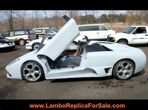 Lamborghini Car Key For Sale Turn Key Lamborghini Murcielago Lp640 Replica Kit Car