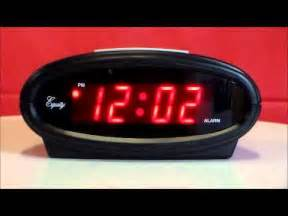 equity 30228 electric alarm clock