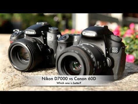 Kamera Canon Vs Nikon kamera canon eos 60d vs nikon d7000 mana yang terbaik