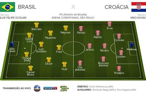 brasil x croacia escala 231 227 o oficial de brasil x cro 225 cia 12 06 copa do