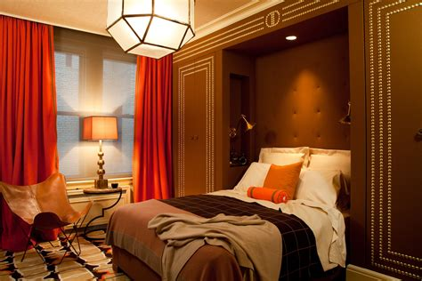 orange and brown bedroom ideas cj dellatore amanda nisbet bedroom cj dellatore