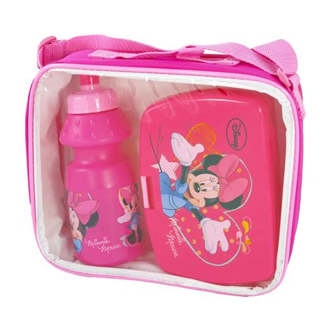 Lunch Set Homio sanifri home lunch set minnie in tasche mit trinkflasche und brotdose wir habens de