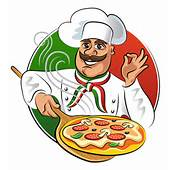 Chef With Pizza Vector Material  Food Free Download
