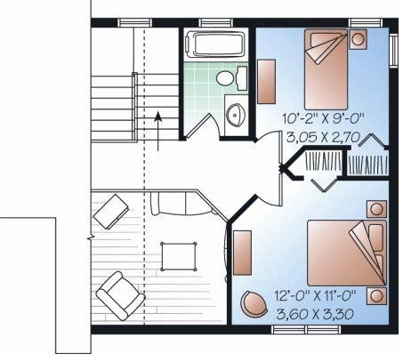 casas de 30 metros cuadrados planos de casas de dos pisos de 30 metros cuadrados