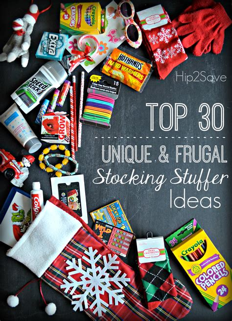 cool stocking stuffers top 30 unique frugal stocking stuffer ideas hip2save