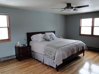behr paint colors verdigris ruffled feathers bedroom makeover