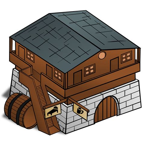 Pictures Of Small Houses by Clipart Rpg Map Symbols Inn