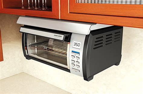 Toaster Oven Mount adding cabinet toaster ovens in your kitchen space