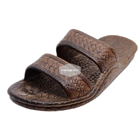 classic brown pali hawaii sandals classic brown hawaiian jandals pali hawaii jesus