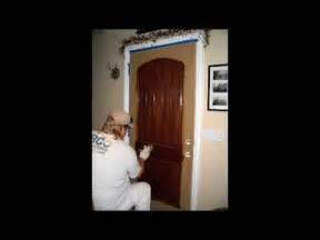 Do You Stain The Inside Of Kitchen Cabinets Gel Stain A Fiberglass Door