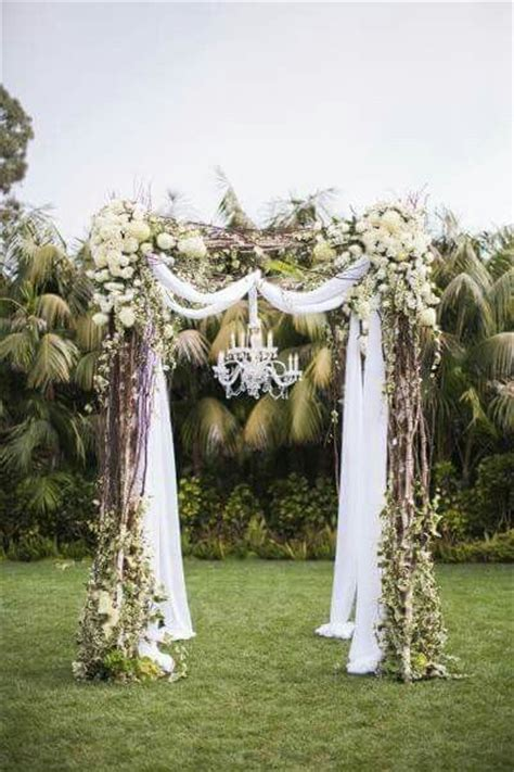 Wedding Arch Chandelier Wedding Arch With Chandelier Inspiratie Ceremony Styling Pinterest The Chandelier