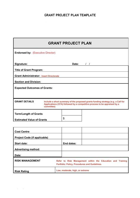 Plan Template by 48 Professional Project Plan Templates Excel Word Pdf