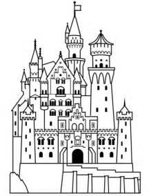 german hat coloring page neuschwanstein castle coloring page free printable