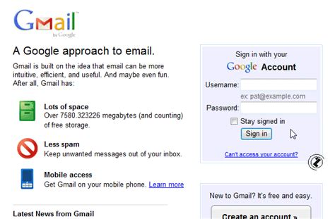 email gmail sign in internet kreiranja email adrese create account