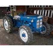 4x4 Fordson Super Dexta  Tractors Made In Great Britain