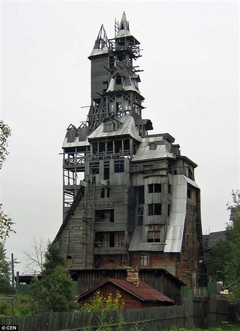 the tallest house in the world world s tallest log cabin built by a former russian gangster destroyed in blaze