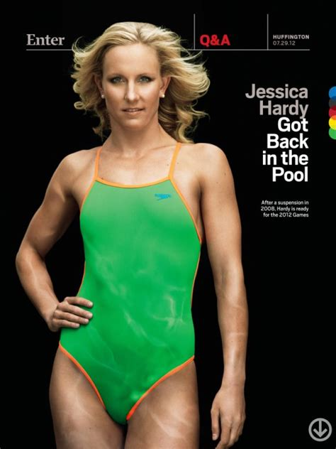 jessica hardy got back in the pool huffpost