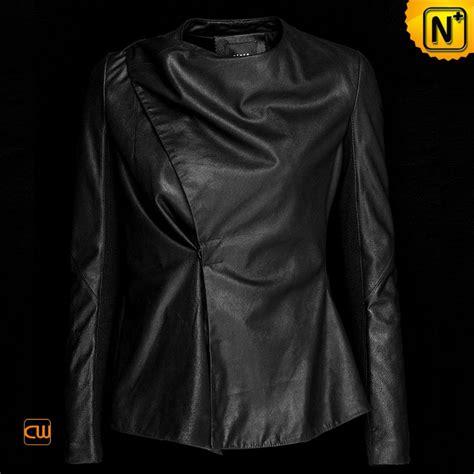 drape jacket womens women cropped leather drape jacket black cw614001 on luulla