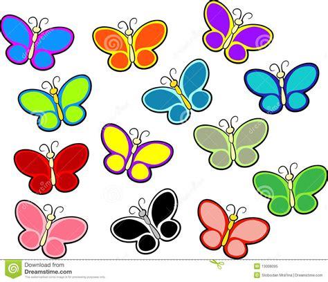imagenes animadas a color mariposas del color foto de archivo libre de regal 237 as