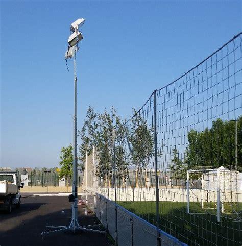 illuminazione ci sportivi noleggio impianto di illuminazione sportivo dragongoal