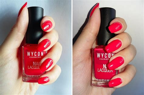 Swatch E smalto wycon n 176 172 rosso corallo swatch e review