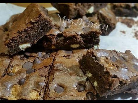 Original Melt Brownie resep membuat brownie melted middle brownies doovi
