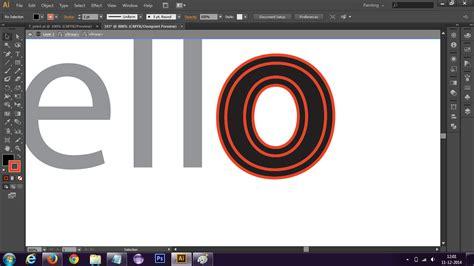 illustrator tutorial offset path how do i give text an offset path in illustrator