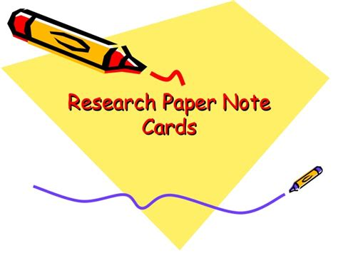 notecard for research paper research paper notecards