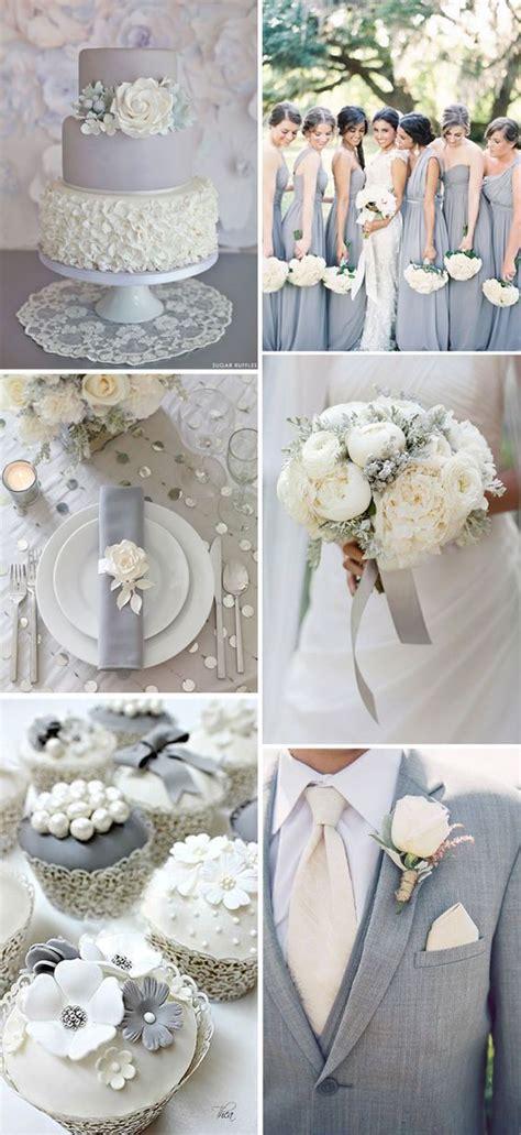 decoraci 243 n para bodas en color gris combinaciones e ideas divinas