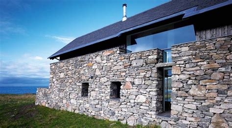 stone houses 5 contemporary exles of stone houses raised from ruins