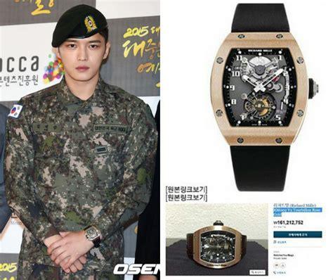 Masalah Jam Tangan Berembun jaejoong jyj pakai jam tangan rp 2 m saat wamil netter tak masalah kan kabar berita