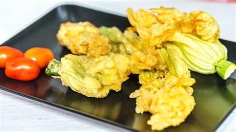 come friggere i fiori di zucca fiori di zucca ripieni fritti in tempura