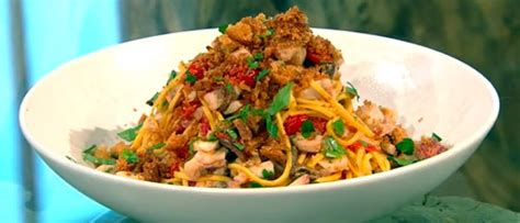 Berry Chicken Recipes Saturday Kitchen by Tagliarini With Mullet Tomatoes Olives And