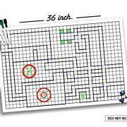 1 inch erase mat battle grid mat 36 x 24 1 inch dnd