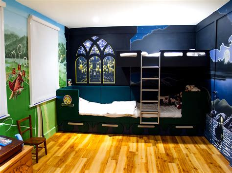 murals for bedrooms harry potter mural sacredart murals