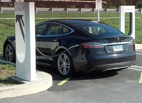 Tesla Car Chargers Tesla Model S Road Trip Electric Car Consumer Reports
