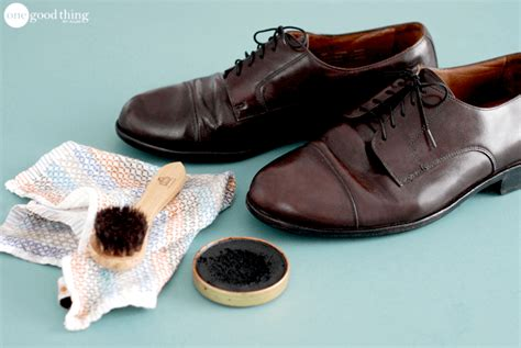 how to clean and care for leather shoes one thing