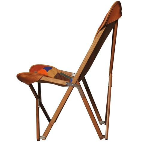 Patchwork Chairs For Sale - patchwork leather tripolina chair for sale at 1stdibs