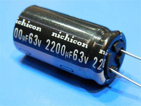 nichicon vz capacitors 2200uf 63v capacitor nichicon vz m 105 176