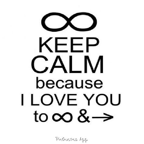 i you to infinity and beyond books keep calm because i you to infinity and beyond