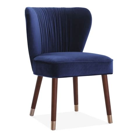 luxury blue accent chairs blue velvet upholstered noa accent chair luxury