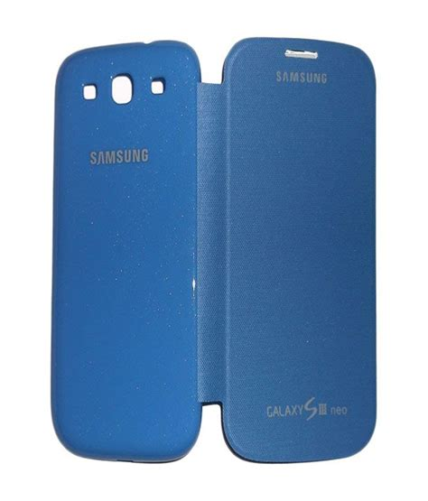 Flip Shell Fdt Samsung Galaxy S3 I9300 Blue jma flip cover for samsung galaxy s3 neo i9300 blue