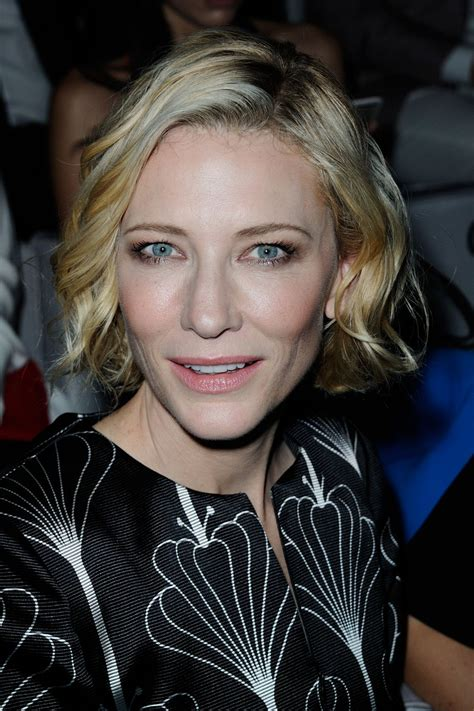 And Cate Blanchett At The Armani Fashion Show by Cate Blanchett At Giorgio Armani Fashion Show In 07