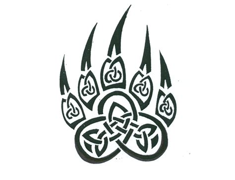 tribal bear tattoo designs celtic tattoos and designs page 40