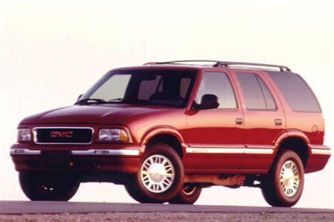 1997 gmc envoy 1995 01 gmc jimmy envoy consumer guide auto